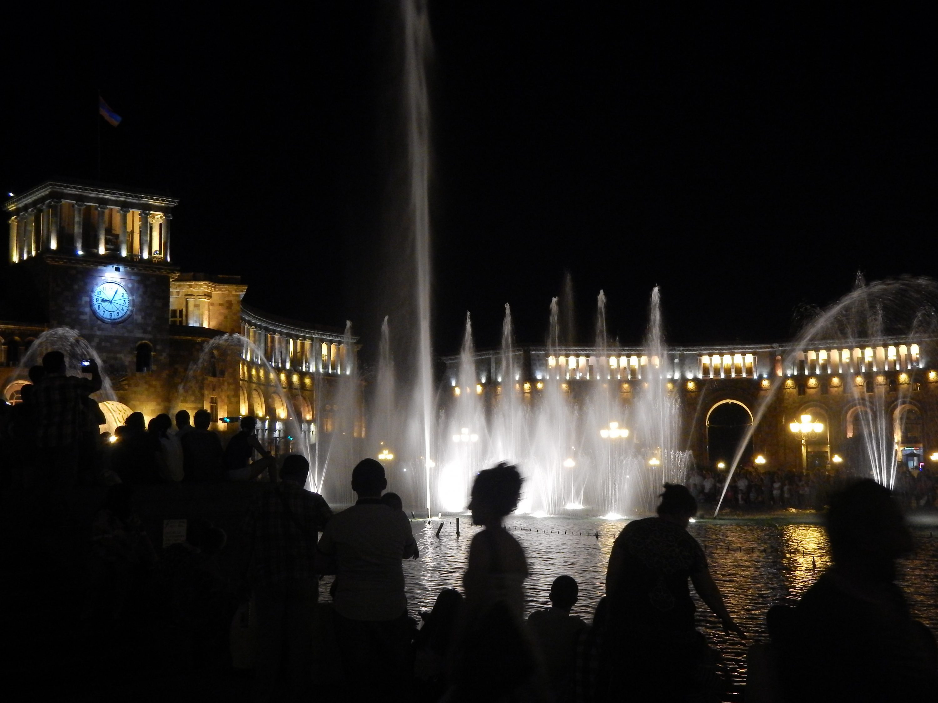 Yerevan, Fountain, Armenia,
